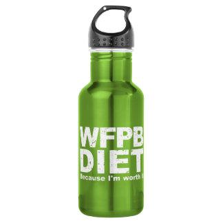 WFPB I sind es wert (weiß) Edelstahlflasche
