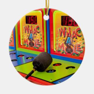 Whac eine Mole Keramik Ornament