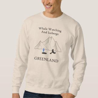 Whale Watching and Icebergs Sweatshirt