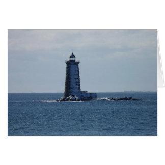 Whaleback Leuchtturm Karte