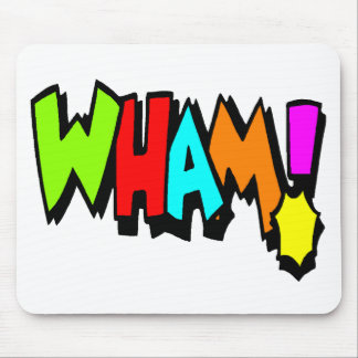Wham! Mousepad