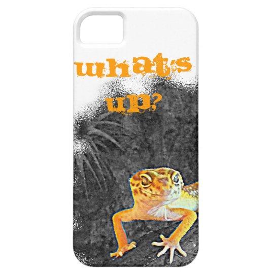 What´s up? iPhone 5, case, gecko, leopard, Etui Fürs iPhone 5