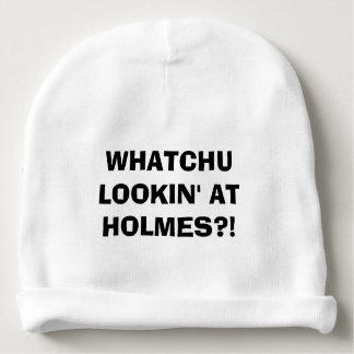 Whatchu Lookin bei Holmes Babymütze