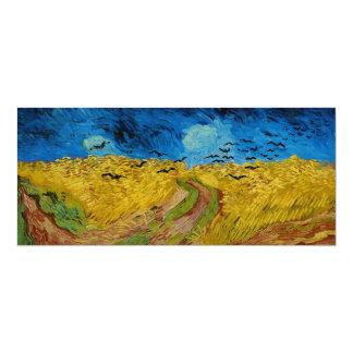 Wheatfield mit Krähen durch Vincent van Gogh Karte