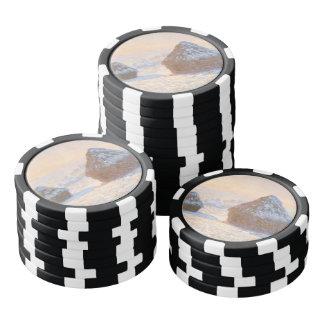 Wheatstacks, Schnee-Effekt, Morgen Poker Chips
