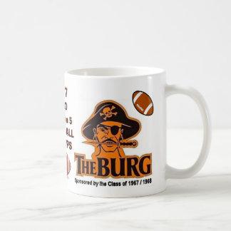 WHEELERSBURG, Gewinn-Staats-Fußballkrone 2017 - Kaffeetasse