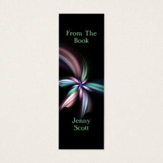 Whiff - Fraktal-Kunst, dünnes Karten-Lesezeichen Mini Visitenkarte
