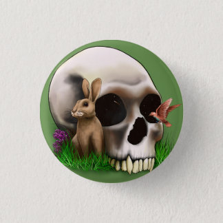 Whimseyskull Runder Button 3,2 Cm