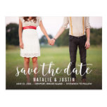 Whimsy Foto-Save the Date Mitteilung Postkarten