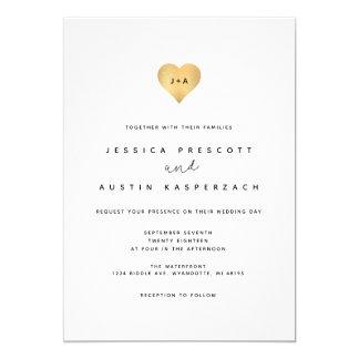 Whimsy Minimalist Wedding Invitation