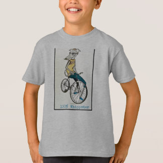 Whippet auf einem Fahrrad T-Shirt