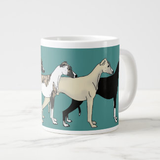 Whippet Color collection Jumbo-Tasse