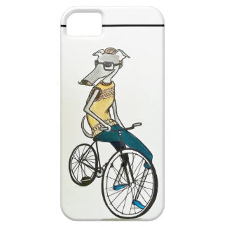Whippet Hipster (Fahrrad) iPhone 5 Cover
