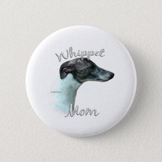 Whippet Mamma 2 Runder Button 5,7 Cm