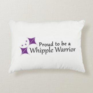 Whipple Kriegers-Kissen-Logo Zierkissen