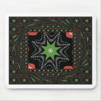 Whirling Sternhintergrund Mousepad