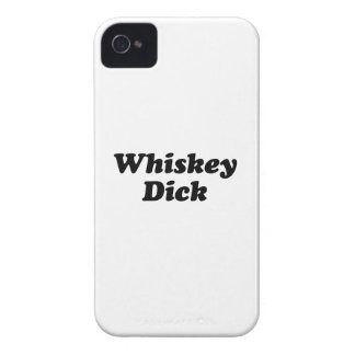 Whisky Dick Case-Mate iPhone 4 Hüllen