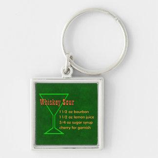Whisky-saures Schlüsselanhänger