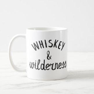 Whisky u. Wildnis Kaffeetasse