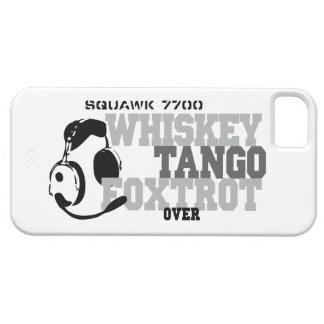 WhiskyTango Foxtrot - Luftfahrt-Spaß Schutzhülle Fürs iPhone 5