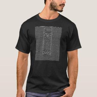 whit lines skateboarding t-shirt