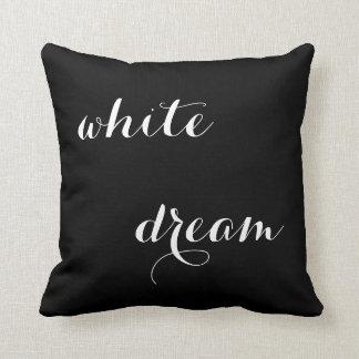 WHITE DREAM II - photograpy + words Kissen
