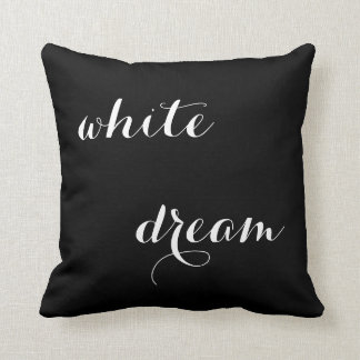 WHITE DREAM II - photograpy + words Zierkissen
