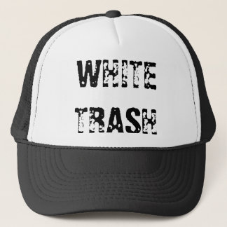 WHITE TRASH TRUCKERKAPPE