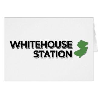 Whitehouse Station, New-Jersey Karte