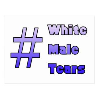 #WhiteMaleTears Postkarte