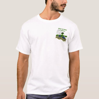 Whitewater-Kajak-Rolle T-Shirt