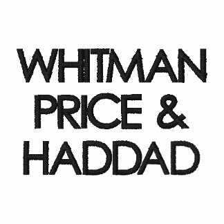 WHITMAN PREIS &HADDAD BESTICKTE POLOS