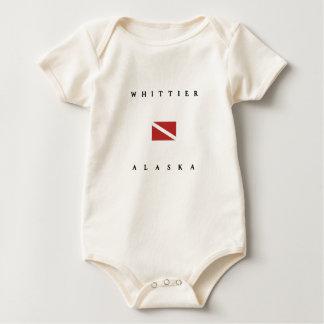 Whittier Alaska Baby Strampler
