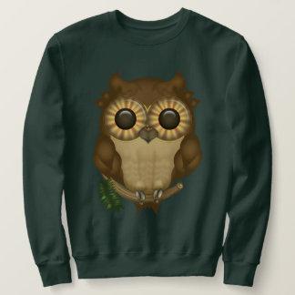 Whoolio die niedlichen Eulen-Sweatshirts Sweatshirt