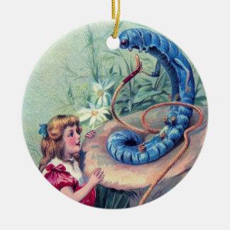 Whooo sind Sie? 1 Rundes Keramik Ornament