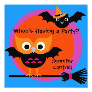 Whooty Schrei-Halloween-Party-Einladung Karte