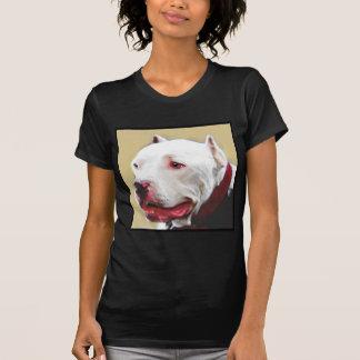Whtie Pitbull T-Shirt
