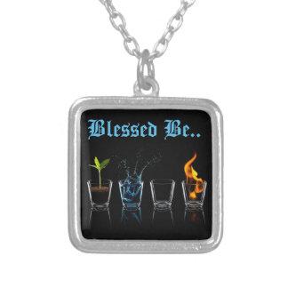 Wiccan segnete ist Halskette