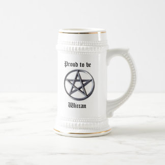 Wiccan Stolz Bierglas