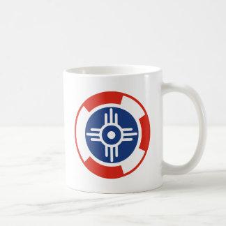 Wichita-Luft-Geschwader Roundel Kaffeetasse