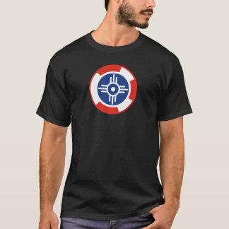 Wichita-Luft-Geschwader Roundel T-Shirt