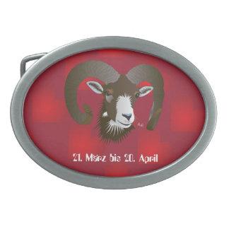 Widder 21. März bis 20. Apri Gürtelschnalle