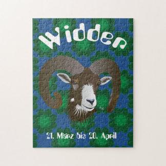 Widder 21. März bis 20. April Puzzles