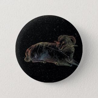Widder Runder Button 5,1 Cm