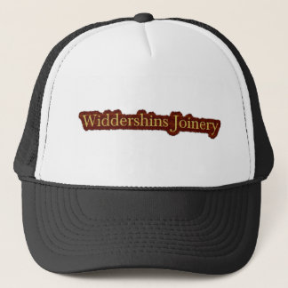 Widdershins Platte-Logo Truckerkappe