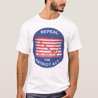 Widerrufen Sie Patriot Act T-Shirt