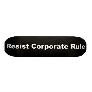 Widersetzen Sie sich Unternehmensbrett der regel Skateboard Deck