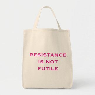 Widerstand ist NICHT vergeblich Tragetasche