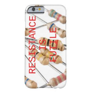 Widerstand ist vergeblicher Telefon-Kasten Barely There iPhone 6 Hülle