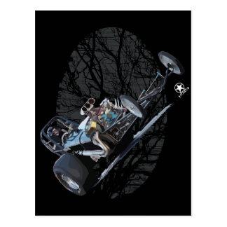 Widerstand-Laufen u. Vintages Dragsters Postkarte